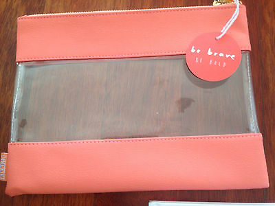 New Kikki.K case pencil beauty travel leather