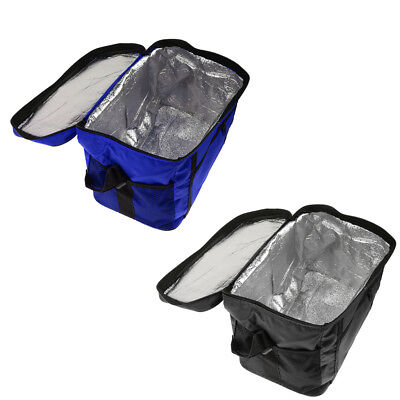 2pcs Insulated Cooler & Thermo Lunch Bag with Carry Strap for Camping Picnic
