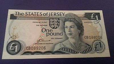 The States Of Jersey One Pound Note