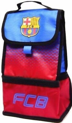 Barcelona Football Adult Kids School Infant Office Insulated Lunch Bag Box Fade