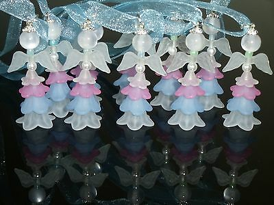 10 Fairies/Angels,Birthday Party charms 42mm,Christening ornaments,New Baby