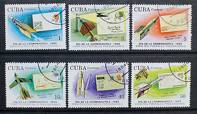 Central America 1989 Space Stamps Used