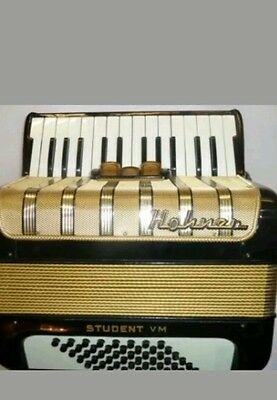 HOHNER  STUDENT VM  ACCORDION with keys case,strap