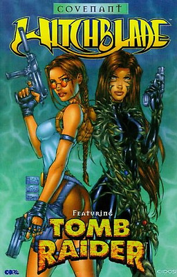 Witchblade Featuring Tomb Raider: Covenant, Good Condition Book, David Wohl, Mar