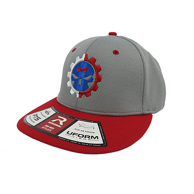 Miken Psycho Hat by Richardson PTS40 Red/Grey/Grey/White /RED LG/XL