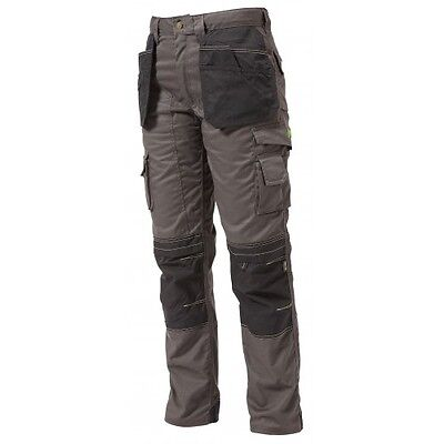 Apache Cargo Trousers Workwear With Holster Pockets & Kneepad Pockets