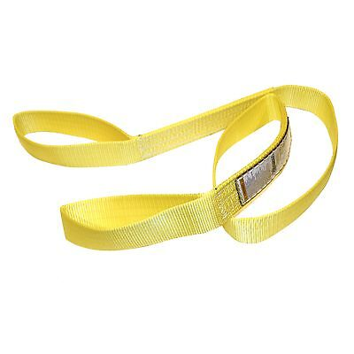 "TUFF TAG 1"" x 6 ft Nylon Web Lifting Sling Tow Strap 1 Ply EE1-901 Eye & Eye"