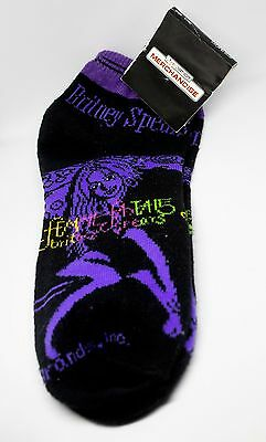 Britney Spears Socks (Femme Fatale Tour Mexico Official Merchandise) RARE