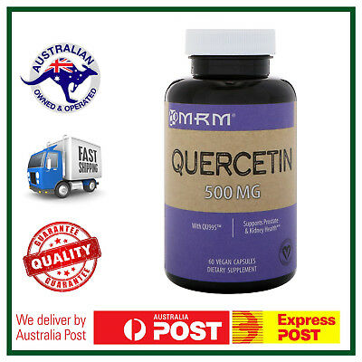 MRM Quercetin 500 mg 50 Capsules - Potent Anti-Oxidant - BEST PRICE AUS STOCK