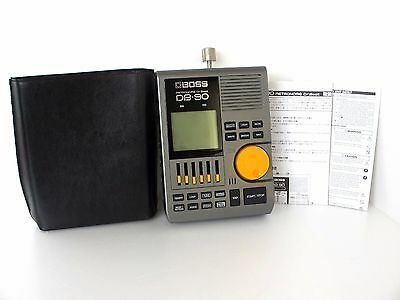 BOSS DB-90 Dr Beat Metronome w/case DB90 From Japan *0619