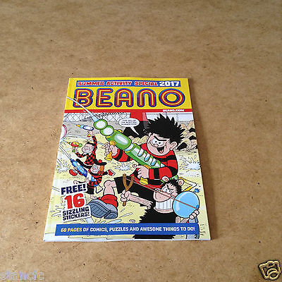 Beano Summer Activity Special 2017 16 Stickers Dennis The Menace Minnie The Minx