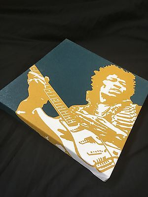 Jimi Hendrix Voodoo Child Canvas Print
