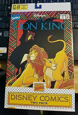 Walt Disney LION KING Marvel Comics TWO PACK Mint Sealed condition 1&2