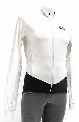 Capo Men Road Bike Cycling Thermal Insulated Long Sleeve Jacket White Medium