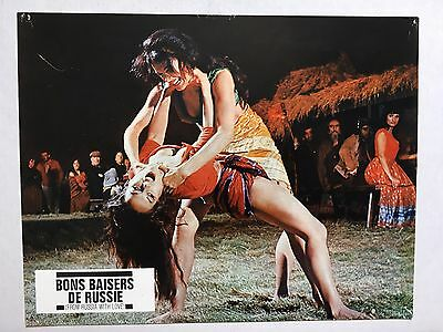 James Bond 007 From Russia With Love Original French Lobby Card