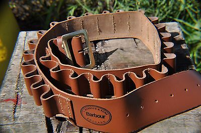 New Barbour Leather 16 Bore Cartridge Belt