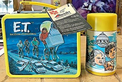 E.T. The Extra-Terrestrial Lunchbox NEW WITH TAGS! NICE! #o