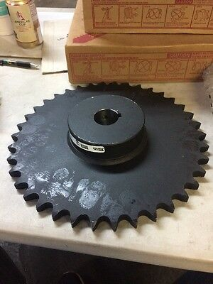 Martin Roller Chain Sprocket, Bored-to-Size, Type B Hub, Single Strand, 80 Chain