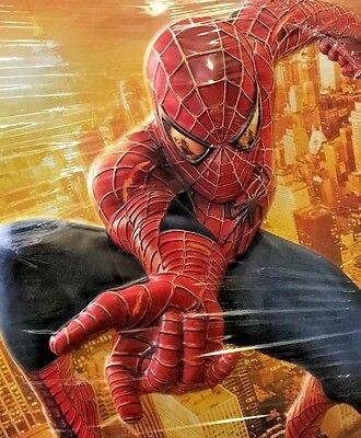 TRULY ONE-ONE-OF-KIND, Spider-Man 2,  3-D Movie Poster that Pops Out!