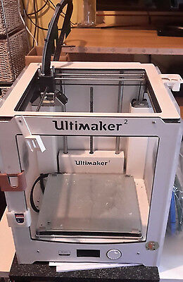 Ultimaker 2 3D Printer with Filament and extras