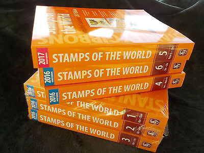 NEW Stanley Gibbons Stamps of the World 2016-2017 – Mixed years, FULL SET
