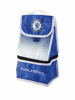 Chelsea Fc 'Fade' Dual Compartment Football Premium Lunch Bag Official New Gift