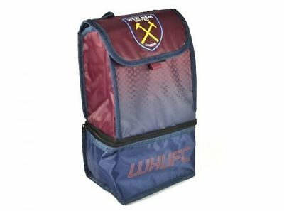 West Ham United FC 'Fade' Dual Compartment Football Premium Lunch Bag New Gift
