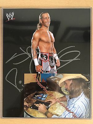 WWE Signed HBK Shawn Michaels 8x10 (with Photo Proof)