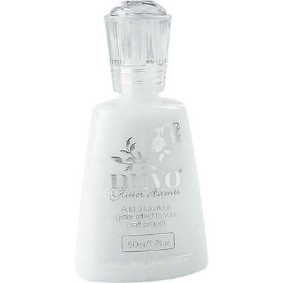 Nuvo Glitter Accent 1.7oz Fresh Snowfall 841686109485