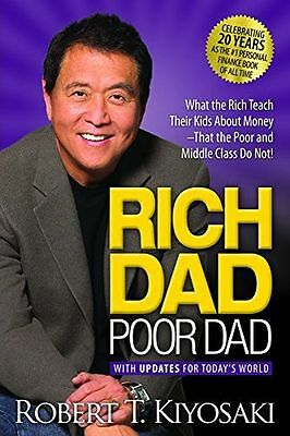 Rich Dad Poor Dad: What the Rich Teach Their Kids about (Paperback) 1612680194