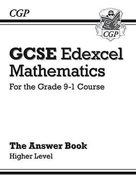 New GCSE Maths Edexcel Answers for Workbook: Higher - for (PB) 1782944028