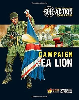 **NEW** - Bolt Action: Campaign: Sea Lion (Paperback) - 1472817869