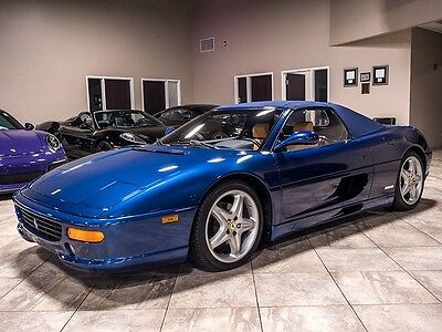 1998 Ferrari 355  1998 Ferrari F355 Convertible TDF Blue! Gorgeous and Stunning Example! F1-Auto!