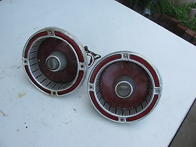 1963 Ford Fairlane 500 taillights with backup