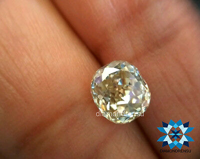 1.35 Divine cushion Modified loose moissanite 6.25 to 6.50mm