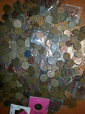 Canada Penny Coin Lot 8 Pound lbs 6 oz Canadian Coin Lot