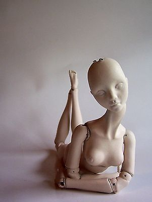 MadeToOrder BJD Customize your art Porcelain ball jointed doll blank unpainted