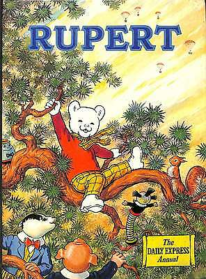 RUPERT. The Daily Express Annual (1973), Good Condition Book, Illustrated by Alf