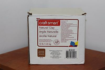 Craft Smart® Natural Clay modeling clay - 10 lb lbs pounds