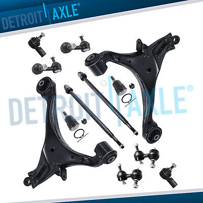 New 12pc Front and Rear Suspension Kit for 2001 - 2005 Honda Civic Acura El