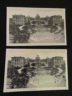 2 Vintage Marseille Postcards - probably purchased about 1948/50