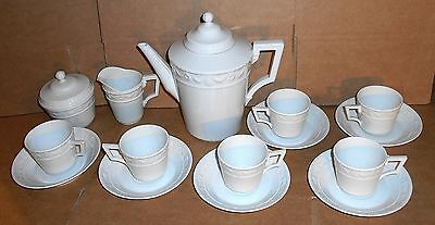 KPM Kurland Coffee Set Made For Interparliamentary Conference Bonn 1978