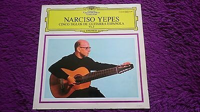 Narciso Yepes ‎– Cinco Siglos De Guitarra Española VL.1 , Vinyl, LP, 1968 Spain