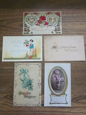 Vintage / Antique Postcard - Greeting Cards