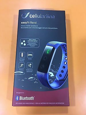 Orologio Fitness SMARTBAND Cellularline Easyfit band NERO Android iOS Smartwatch