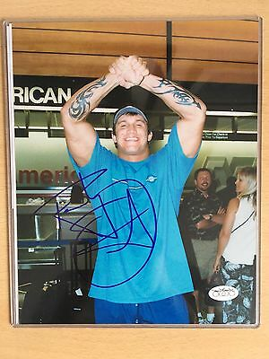 WWE Signed Randy Orton 8x10 (with Photo Proof)