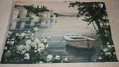 """NEW Marilyn Simandle WALL TAPESTRY 58""""X 36""""   WATERS EDGE"""