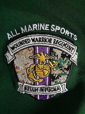 USMC ALL MARINE SPORTS Wounded Warrior Refiment Under Armour Men's Size Large L