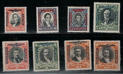 Chile 1928 SC C6-8 Set H CV$ 150 - C6E Signed