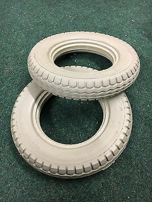 12 1/2 X 2 1/4 (62-203) Solid Tyres For An Electric Wheelchair